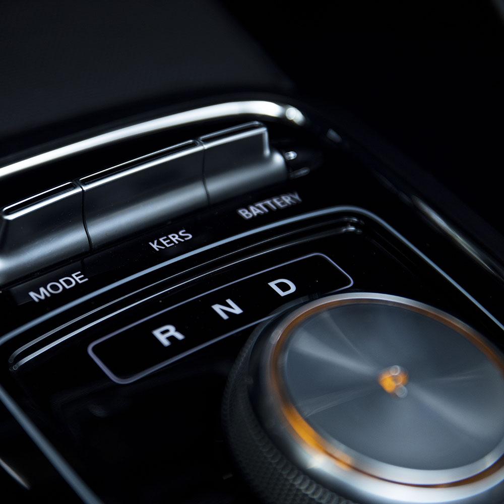 Three drive modes